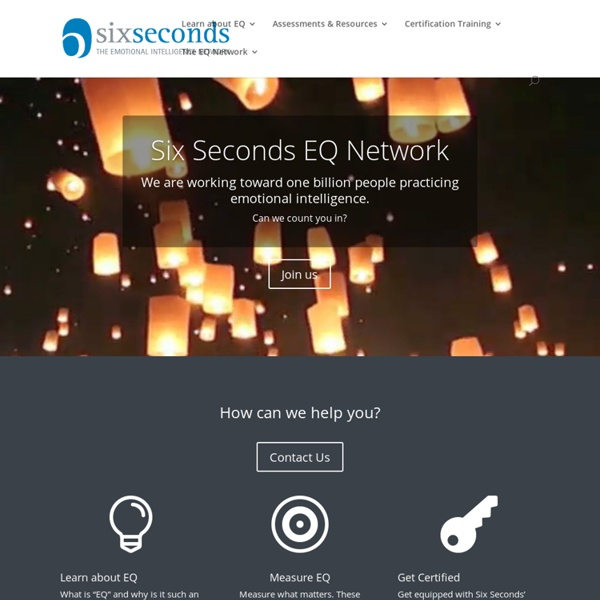 Six Seconds - The Emotional Intelligence Network