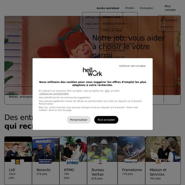 Emploi avec OuestJob, offres d'emploi dans le Grand Ouest