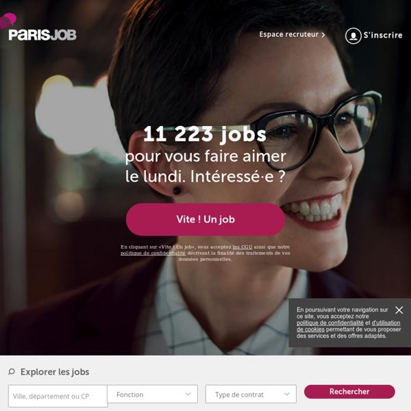 parisjob emploi