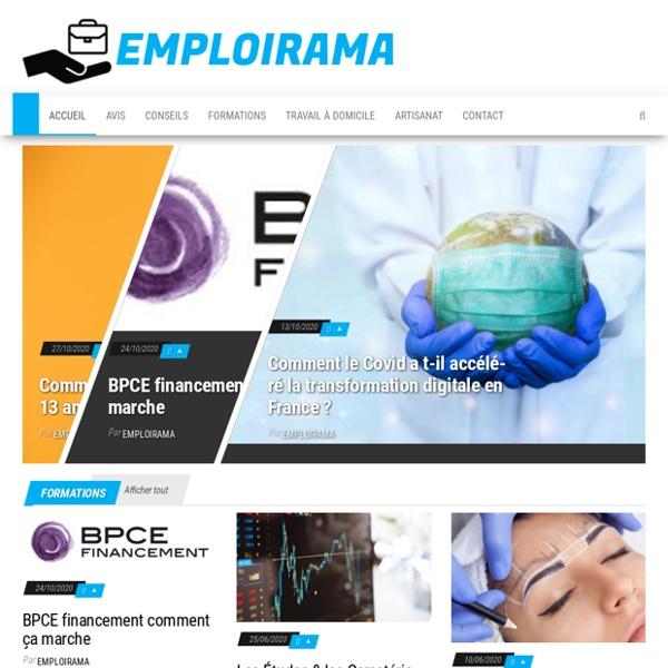Emploirama : offre emploi, recherche emploi, offres d'emploi.