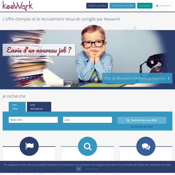 Offres d'emplois et recrutement - Keework