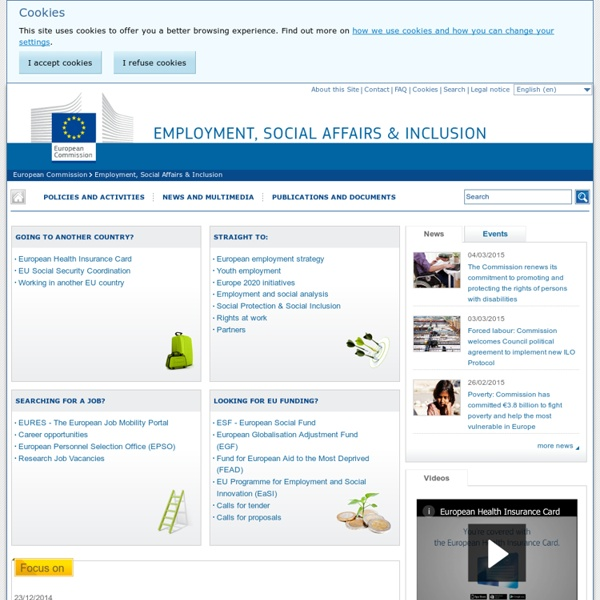 EMPL - Employment, Social Affairs & Inclusion - EU