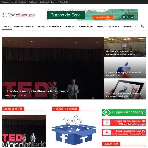 TodoStartups - Emprendedores, Startups y Negocios en Internet.