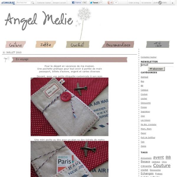 En voyage - Angel Mélie