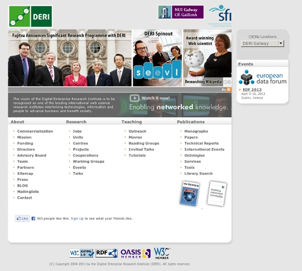 Digital Enterprise Research Institute: Home