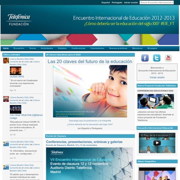Encuentro Internacional de Educación 2012 - 2013