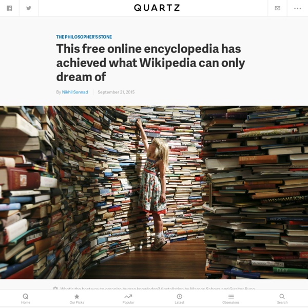 This free online encyclopedia has achieved what Wikipedia can only dream of