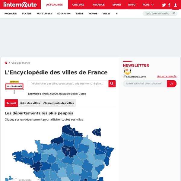 L'encyclopédie des Villes de France