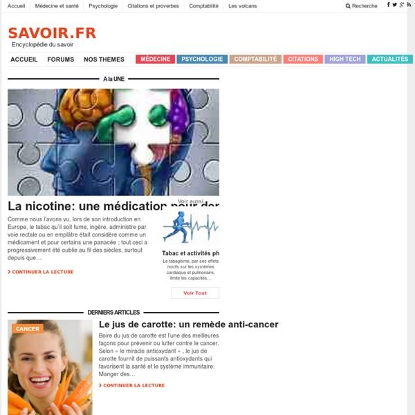 Encyclopédie savoir.fr