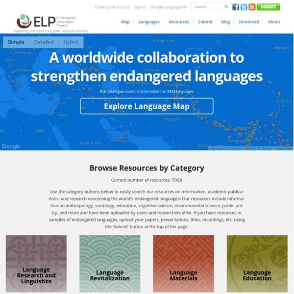 Endangered Languages Project