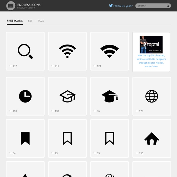 Free Flat Icons and Creative Stuff