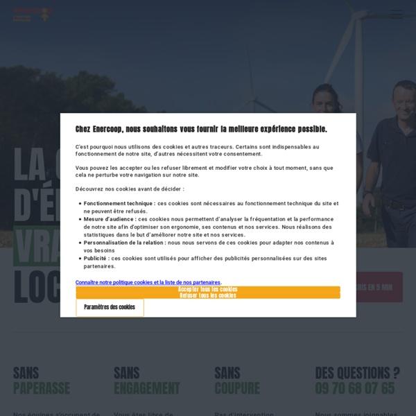 Enercoop, Fournisseur d'électricité verte
