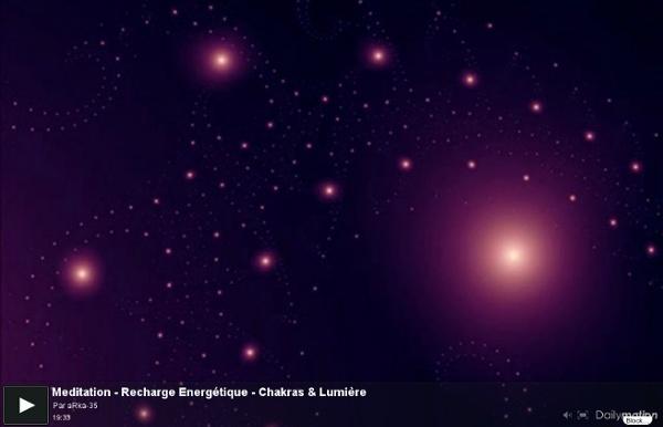 ►Meditation Recharge Energétique - Chakras & Lumière