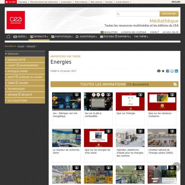 Médiathèque - Energies CEA
