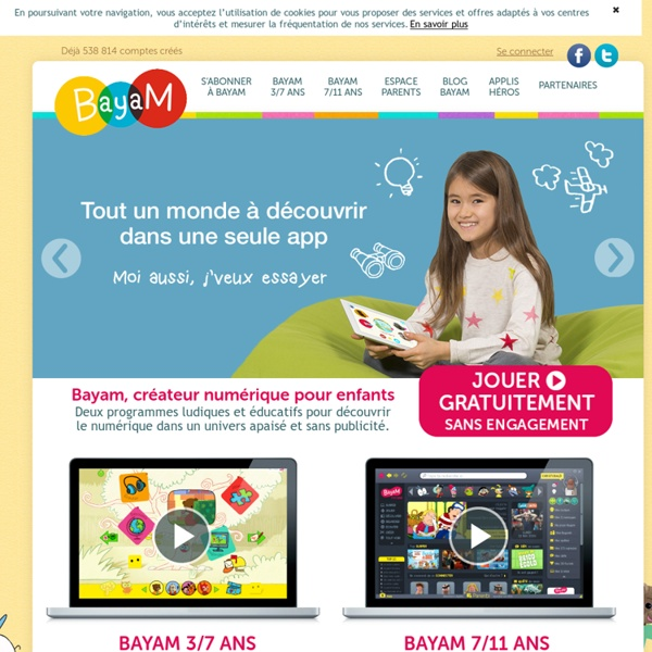 bayam le site de jeux en ligne pour enfants de 3 13. Black Bedroom Furniture Sets. Home Design Ideas