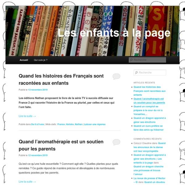Blog sur la littérature jeunesse