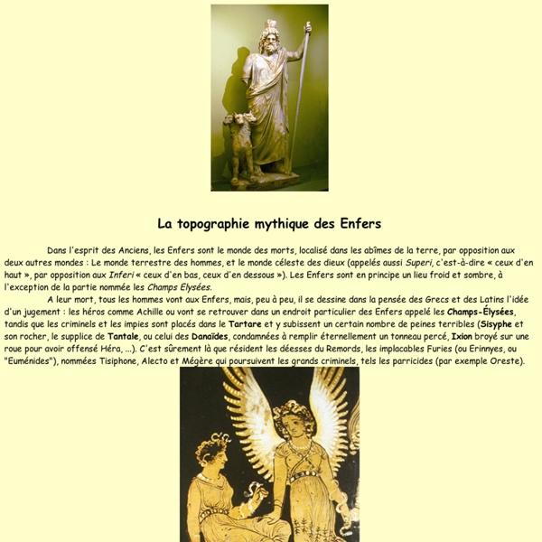 Les Enfers : catabases et topographie