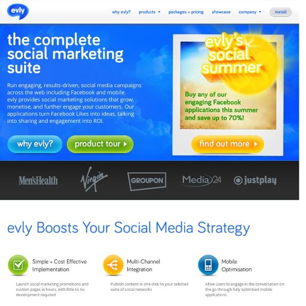 Evly - social media crowdsourcing crowdfunding platform - innovation, idea generation, problem solving on evly.com