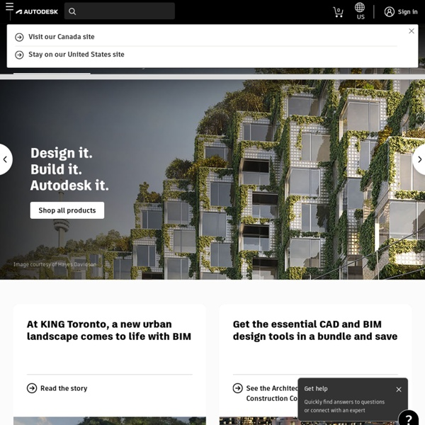 2D and 3D Design and Engineering Software for Archite
