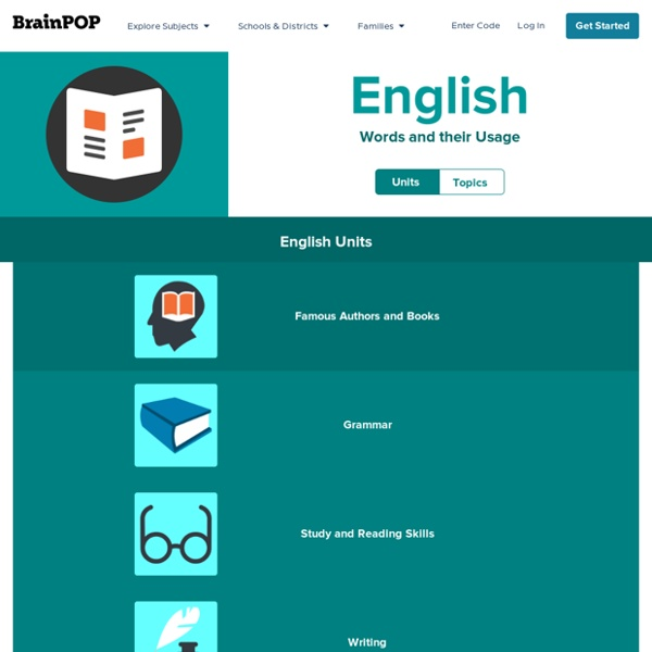English - BrainPOP