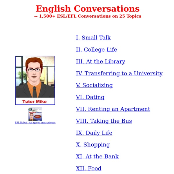 Topics for english conversation practice - 6 Ways to