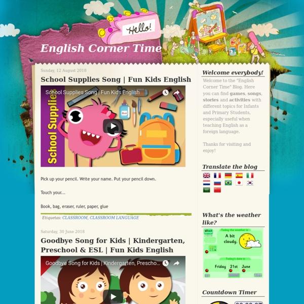 English Corner Time