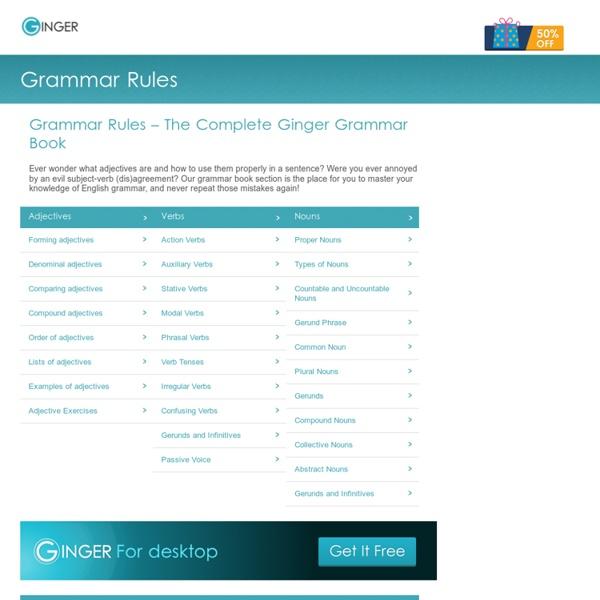 English Grammar Rules - The Definitive Grammar Handbook