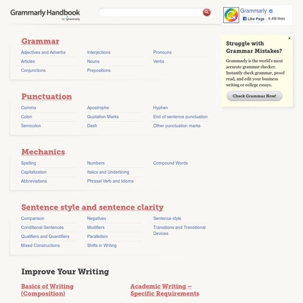 Grammarly Handbook