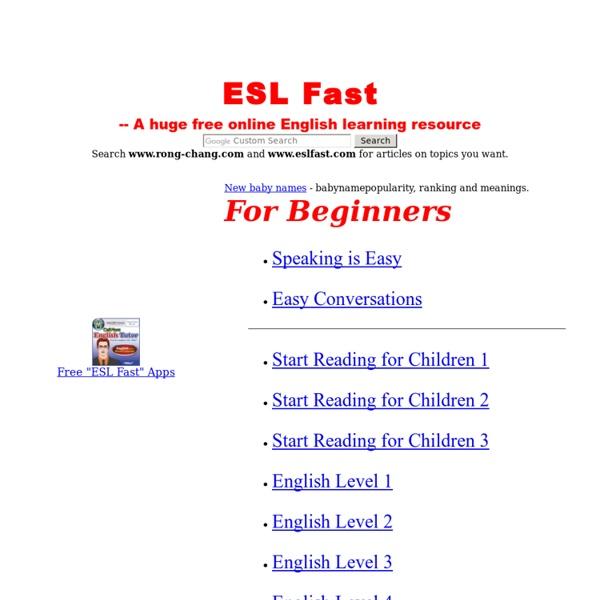 ESL/EFL Reading - 365 ESL/EFL Short Stories