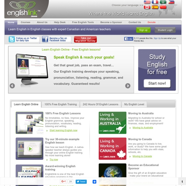 Learn English Online, Free English Lessons, English Classes, Business English