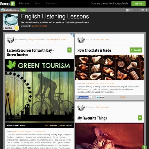 English Listening Lessons