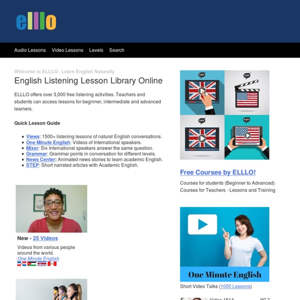English Listening Online