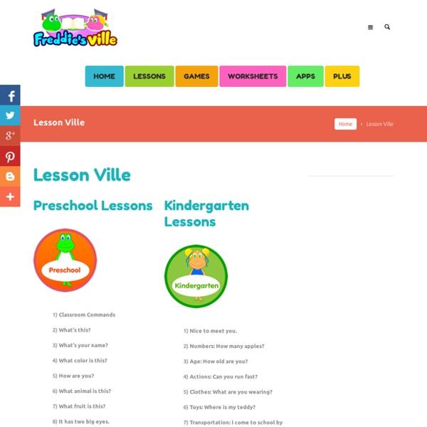 English Lessons for Kids, Preschool, Kindergarten, 1st, 2nd, 3rd Grades, ESL Kids