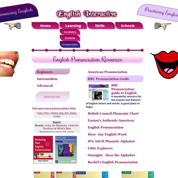 Learn English Pronunciation Online
