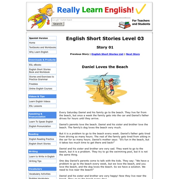 English Short Stories, Level 03, Story 01
