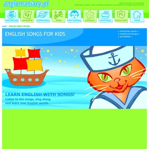 English songs for ESL kids