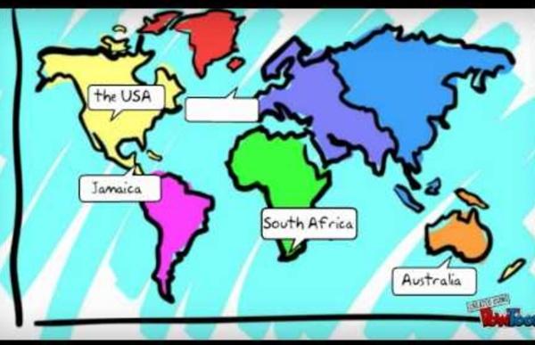 Voyage to the English speaking world