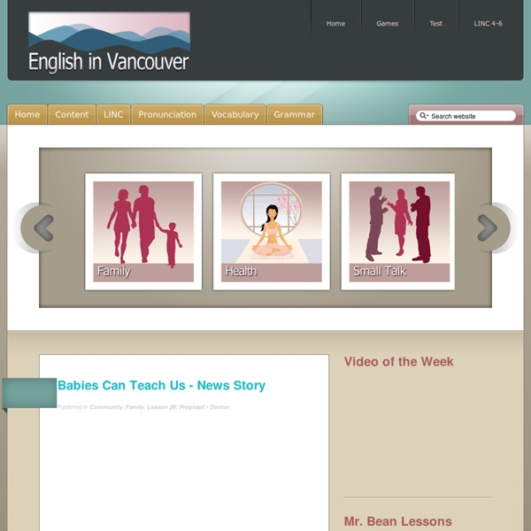English in Vancouver