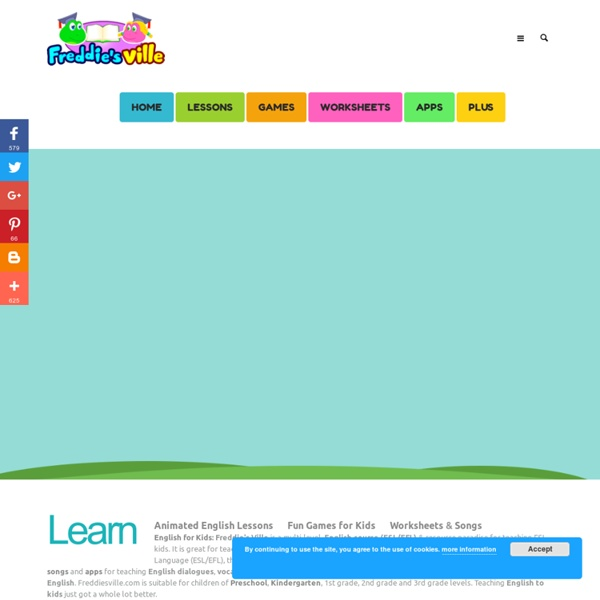 English for Kids, Games, Videos, Worksheets, Songs, Apps, For ESL ...