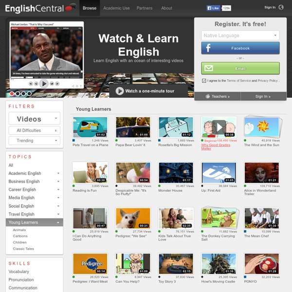 Videos - Young Learners