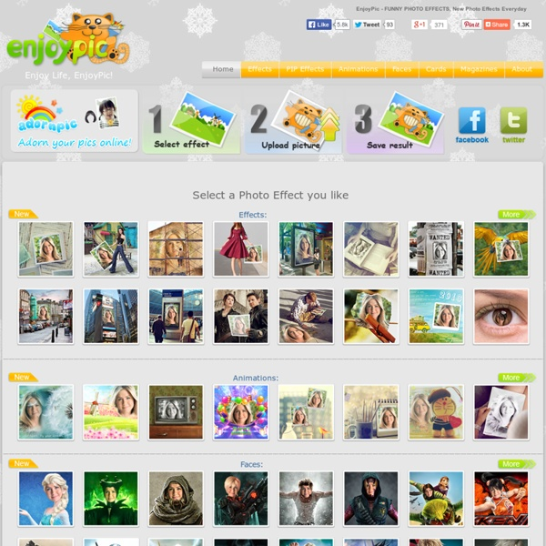 EnjoyPic - Make Funny Pictures and Animations Online