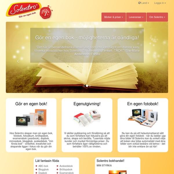 Gör en egen bok - enklaste sättet på marknaden