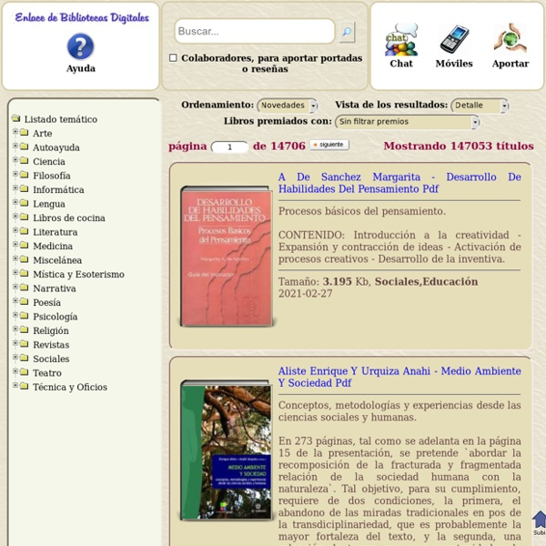 Enlace de bibliotecas digitales