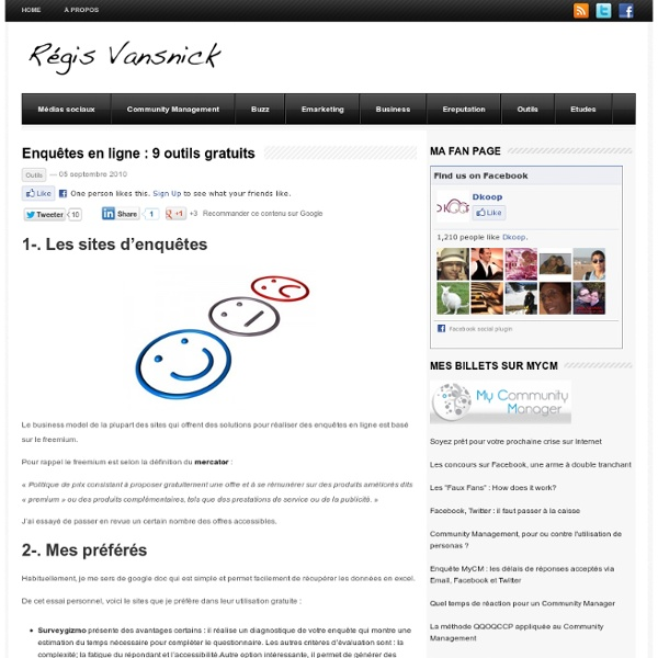 Etudes en marketing, Haute Ecole ISE : Vansnick R.