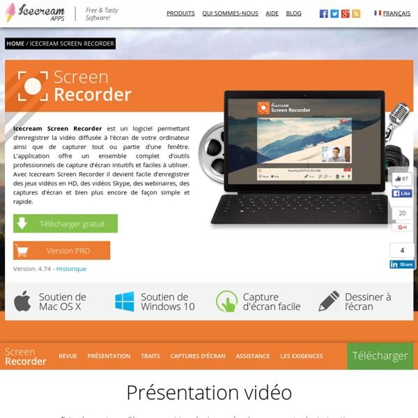 Screen Recorder: enregistrez l'écran ou faites des copies d'écran gratuitement