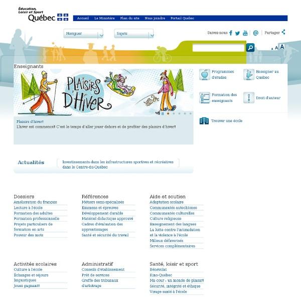 Quebec - Compétences