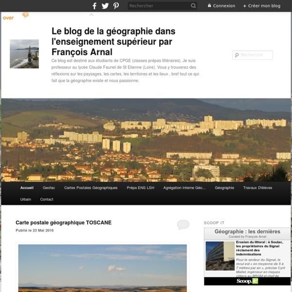 Le blog géographie
