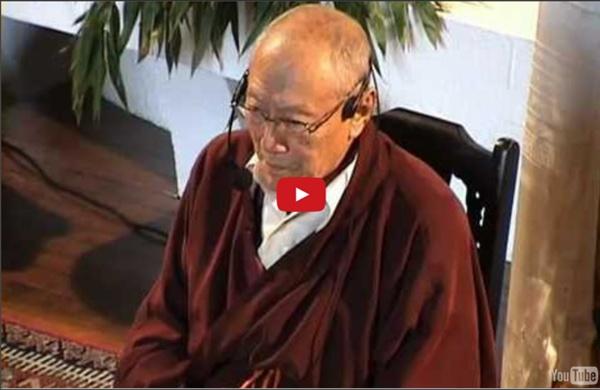Enseignements sur la méditation, par le Vénérable Dagpo Rinpoché (Vajrayana, Gelugpa)