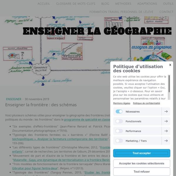 Enseigner la frontière : des schémas - Site de enseigner-la-geographie !