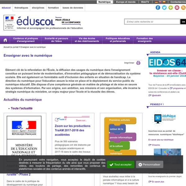 Enseigner avec le numérique